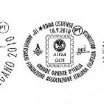 Annulli filatelici AIFM-GOI – 2010
