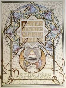 Iconografia del Padre Nostro di Alphonse Mucha