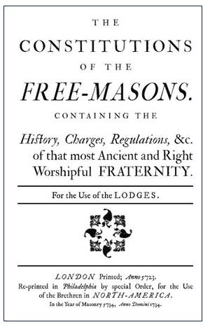 Le Costituzioni dei Liberi Muratori di James Anderson