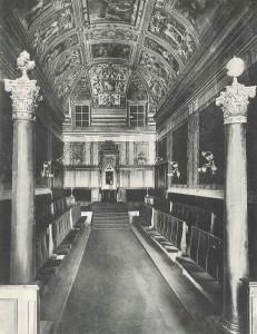 Palazzo Giustiniani, Tempio Maggiore, Roma, 1911