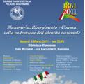 Ravenna 4 marzo – Convegno Massoneria, Cinema e Risorgimento.