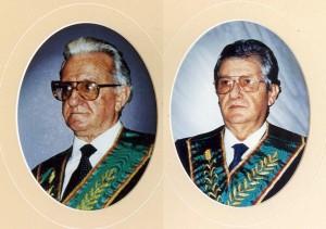 Da sinistra, Eraldo Ghinoi ed Ettore Loizzo