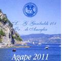 """Isola Palmaria 8 luglio 2011 – Iniziativa della loggia """"Garibaldi"""" di Ameglia. Agape con escursione in battello."""