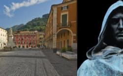 Monumento a Giordano Bruno. All'inaugurazione anche i vertici del Grande Oriente