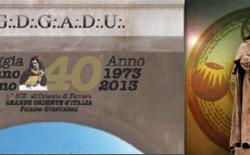 """La loggia """"Giordano Bruno"""" di Ferrara festeggia il quarantennale con un convegno e uno spettacolo teatrale"""