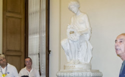 Firenze Capitale. I massoni  fanno restaurare una statua del Museo di Palazzo Pitti
