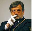 """Roma 14 dicembre 2006 – Olocausto: Conferenza; Massoneria, Gran Maestro Raffi """"negazionismo fa presagire futuro fosco per convivenza tra popoli""""."""
