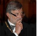 """Roma 14 dicembre 2006 – Welby: Massoneria, Gran Maestro Raffi """"il valore della vita va concepito insieme a quello della morte""""."""