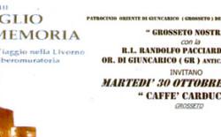 """Presentazione del Libro """"L'orgoglio della memoria. Viaggio nella Livorno liberomuratoria"""" del Gran Maestro Aggiunto, Massimo Bianchi"""