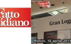 """(Il Fatto Quotidiano) Rimini, massoni a convegno. Bisi: """"In logge nessuna infiltrazione della mafia"""""""