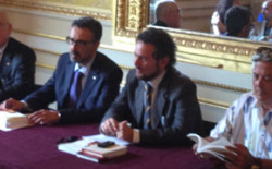 Presentazione libro 'L'orgoglio della memoria' del Gran Maestro Aggiunto Massimo Bianchi