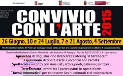 """Perugia. """"Convivio con l'arte"""", tra cultura e solidarietà. Ultimo appuntamento il 4 settembre"""