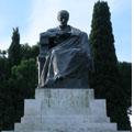 Roma 10 marzo 2011 – Corona d'alloro al monumento di Mazzini.