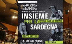 Insieme per la Sardegna. Tazenda e altri artisti in concerto il 19 gennaio per gli alluvionati dello scorso novembre