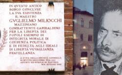 Celebrazione dei trent'anni dalla fondazione della Loggia 'Guglielmo Miliocchi' di Perugia