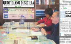 Grande Oriente d'Italia, Istituzione trasparente – Forum al Quotidiano di Sicilia