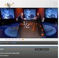 """Roma 15 dicembre 2011 – Lucia Annunziata intervista il Gran Maestro Raffi """"in mezz'ora"""""""