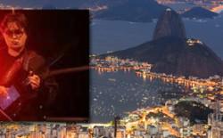 Tour in note al via da Rio de Janeiro. Con Aluei, alias Louis Siciliano, il nuovo anno si apre all'insegna della rivoluzione musicale