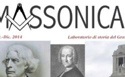 On line MASSONICAmente, nuova rivista del Goi, laboratorio di idee e di storia
