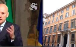 Palazzo Giustiniani, Senato: Accordi di libertà, convegno in video con intervento del Gran Maestro Bisi