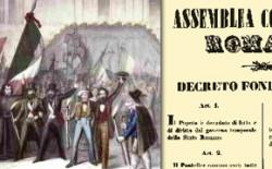 Gran Maestro Raffi: il 9 febbraio celebriamo la Repubblica Romana. La sua Costituzione ancor oggi modello insuperato