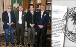 """""""Per non dimenticare"""". Al Grande Oriente il Patrimonio storico documentale della (ex) Gran Loggia D'Italia della Massoneria Universale"""