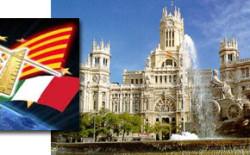 Delegazione della Loggia Kipling di Madrid in visita alla San Giovanni di Scozia