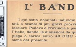 Un bando di persecuzione fascista e un cifrario segreto per la corrispondenza ritrovati dal Servizio Biblioteca del Grande Oriente d'Italia