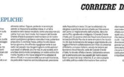 Grande Oriente d'Italia risponde al Corriere della Sera. Lettera del Gran Maestro Bisi al Direttore De Bortoli