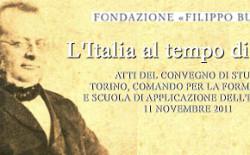 La Fondazione Burzio, presieduta da Valerio Zanone, celebra l'Italia cavouriana
