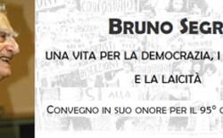 Festa a Torino per i 95 anni di Bruno Segre, massone, uomo del dubbio, alfiere di laicità. Il messaggio di Raffi al convegno organizzato dall'Istituto di Studi Storici Gaetano Salvemini