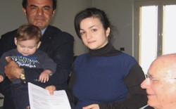 Solidarietà e speranza, la Comunità Massonica vibonese impegnata a sostenere il piccolo Christian nella sua battaglia per recuperare parzialmente la vista