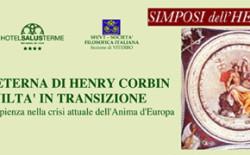 La sophia eterna di Henri Corbin, conferenza del Grande Oratore Bonvecchio