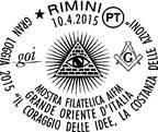 Annulli filatelici AIFM-GOI – 2015