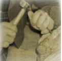 """Roma 22 luglio 2009 – Pietra e Progetto, verso il Centro Polifunzionale del Grande Oriente D'Italia, ora che il Comune di Roma ha rilasciato il """"Permesso di costruire""""."""