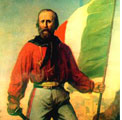 Sansepolcro 6 ottobre 2007 – Celebrazioni per Garibaldi.