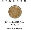 """Firenze 6-8 novembre 2009 – La loggia """"Europa 92"""" compie 20 anni. Tre giorni di celebrazioni."""