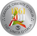 17 marzo 2011 – Festa nazionale dell'Unità d'Italia: il Grande Oriente al Gianicolo.