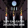 San Galgano 20-21 giugno 2008 – Solstizio d'Estate in Abbazia. Iniziativa dell'Oriente di Siena in collaborazione con il Collegio toscano.