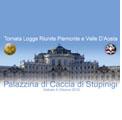 Stupinigi 9 ottobre 2010 – Tornata a logge riunite del Collegio Circoscrizionale Piemonte e Valle d'Aosta. Lavori Rituali e agape bianca alla Palazzina di Caccia.
