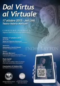 Manifesto 'Dal Virtus al Virtuale'