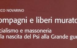 """""""Compagni e liberi muratori"""", di Marco Novarino. La presentazione a Torino il 21 novembre"""