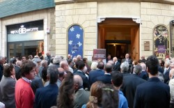 Grandissima partecipazione a La Spezia per l'inaugurazione della mostra su Libera Muratoria e Lunigiana Storica