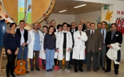 Siena, gesto d'amore della Loggia Salomone per i bambini della pediatria delle Scotte