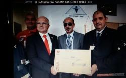 Agrigento. La San Giovanni Onlus dona defibrillatore alla Croce Rossa