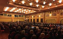 """Oltre 600 fratelli alla tornata a logge riunite della Lombardia organizzata dall'Officina """"Il Dovere"""" di Vigevano"""