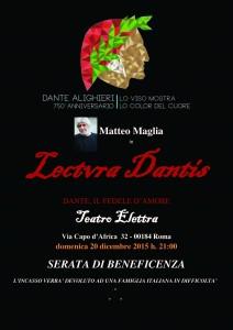 Lectura Dantis-Dante, Fedele d'Amore