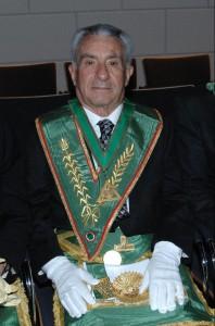 Il Gran Maestro Onorario Luigi Manzo alla Gran Loggia 2012