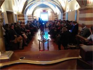 L'incontro del 30 gennaio nella casa massonica di Perugia