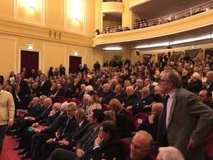 Pubblico al Teatro del Casinò di Sanremo